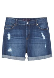 Mango Violeta By Denim Shorts Medium Blue