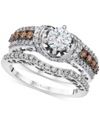 Le Vian Bridal Diamond Bridal Set 1 1 2 Ct. T.W. In 14K White Gold