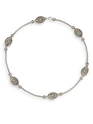 John Hardy Jaisalmer Dot Sterling Silver And 18K Yellow Gold Sautoir Necklace Silver Gold