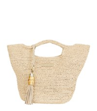 Heidi Klein Super Mini Grace Bay Bucket Bag Neutral