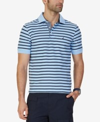 Nautica Men's Striped Performance Polo