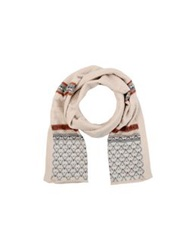 Sessun Oblong Scarves Beige