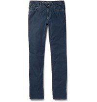 Canali Slim Fit Denim Jeans Mid Denim