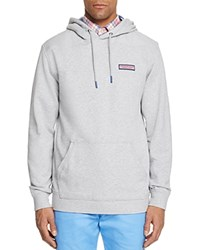 Vineyard Vines Shep Hoodie Sweatshirt Gray Heather