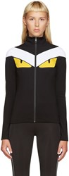 Fendi Black Monster Track Jacket