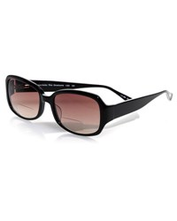 Eyebobs Graduate Square Sun Readers Black White Black White