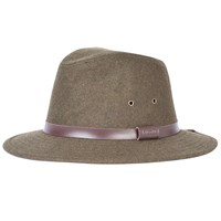 Barbour Bolam Trilby Hat Olive