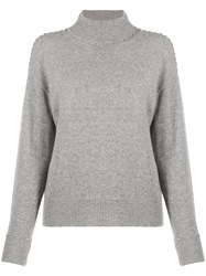 Theory Whipstitch Turtleneck Sweater 60