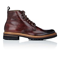 Harris Men's Lace Up Boots Brown