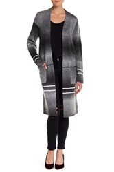Romeo And Juliet Couture Long Pocket Cardigan Gray