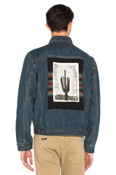 10.Deep Badlands Denim Jacket Medium Vintage