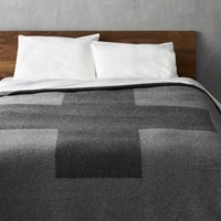 Cb2 Faribault Plus King Blanket