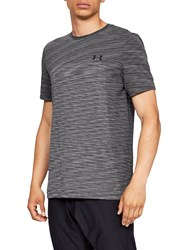 Under Armour Vanish Seamless T Shirt Charcoal Black