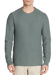 Michael Kors Cashmere Tuck Stitch Sweater Grey