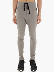 Thom Krom Grey Raw Edge Sweatpants