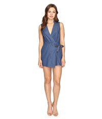 Style Stalker Ana Romper Indigo Women's Jumpsuit And Rompers One Piece Blue
