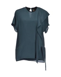 Space Style Concept Blouses Deep Jade