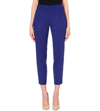 French Connection Whisper Light Cropped Trousers Maya Blue