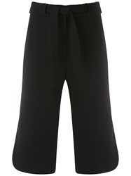 Egrey Cropped Trousers Black