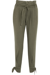 Band Of Outsiders Cotton Tapered Pants