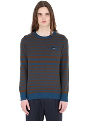 Bob Strollers Bob Striped Wool Sweater