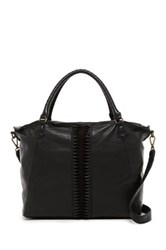 Liebskind Berlin Anessa Leather Laser Cut Vintage Tote Black