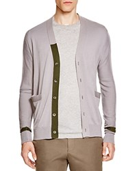 Hardy Amies Cardigan Bone Olive