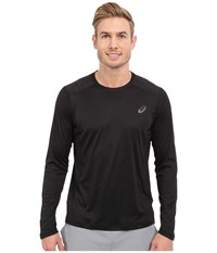 Asics Lite Show Long Sleeve Top Performance Black Men's Long Sleeve Pullover