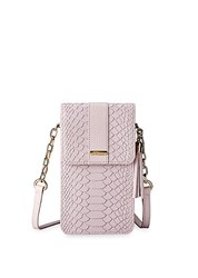 Gigi New York Penny Leather Small Crossbody Bag Petal Pink