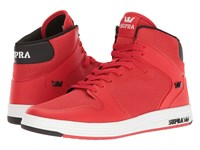 Supra Vaider 2.0 Red White Men's Skate Shoes