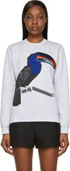 Ostwald Helgason Heather Grey Toucan Sweatshirt