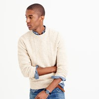 J.Crew Marled Cotton Anchor Knit Sweater