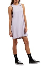 Volcom Day By Day Tank Dress Lavender