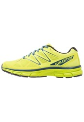 Salomon Sonic Neutral Running Shoes Lime Punch Lime Green Mallard Blue Light Green