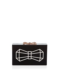 Ted Baker Bowwe Resin Clutch Gold