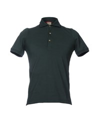 H953 Polo Shirts Dark Green