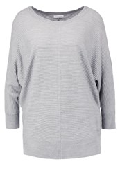 Jdyflip Jumper Light Grey Melange Mottled Light Grey
