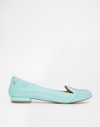 Blink Flat Loafers Pastelgreen