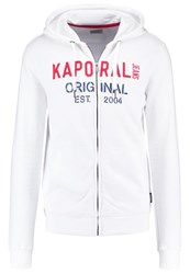 Kaporal Tracksuit Top White