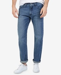 Nautica Men's Stretch Relaxed Fit Jeans Gulf Stream