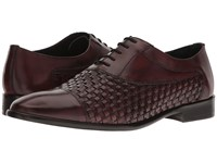 Messico Nereo Burgundy Leather Shoes