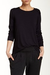 Central Park West The Gorman Long Sleeve Tee Black