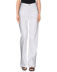 Michael Kors Denim Denim Trousers Women White