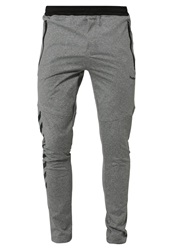 Hummel Reno Tracksuit Bottoms Dark Grey Melange Dark Gray
