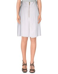 Gaetano Navarra Skirts Knee Length Skirts Women White