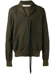 Damir Doma Hooded Jacket Green