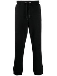Mcq By Alexander Mcqueen Swallow Logo Trackpants Black