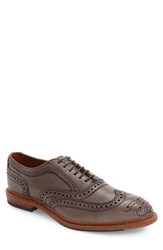 Allen Edmonds Men's Neumok 2.0 Wingtip Grey Leather
