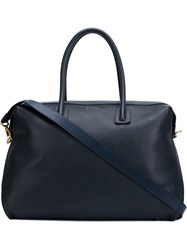 Maiyet Large 'Como Satchel' Tote Bag Blue