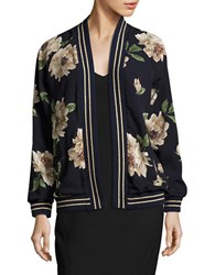 Romeo And Juliet Couture Floral Cardigan Navy Floral